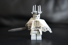 LEGO Minifigures - Witch King of Angmar (Marco Hazard - Knight of Ren) Tags: king lego witch lord lotr rings nazgul minifigure ringwraith angmar