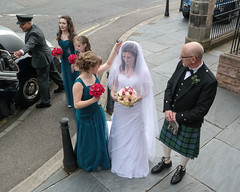 Ready for the ceremony (Just hit 5 million views) Tags: wedding northernireland inverness habost freechurchofscotlandcontinuing