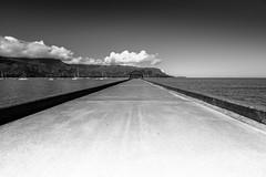 Pier Perspective (DSC1124) (DJOBurton) Tags: hawaii pier kauai hanaleipier hanalei