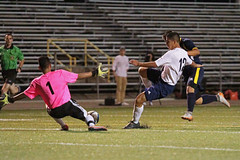 151006-TDHS-JGHS-vs-106 (fzx_is_phun) Tags: soccer knights mmc jaguars highschoolsoccer thomasdowneyhighschool jghs tdhs modestometroconference sacjoaquinsection josephgregorihighschool