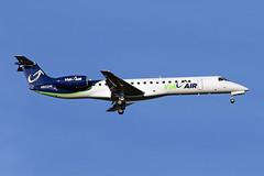 ERJ145.N802HK (Airliners) Tags: plane iad jet via airliner embraer 145 erj regionaljet embraer145 erj145 viaair 101115 n802hk