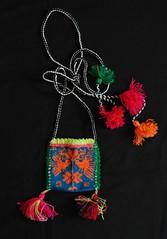 Embroidered Bag Tepehuano Mexico Durango Mexico (Teyacapan) Tags: birds mexico embroidery mexican bags textiles bolsa purses bordados tepehuano