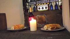 Saint Michael & All Saints 03 (byronv2) Tags: food building history church architecture bread edinburgh candle wine religion kirk tollcross doorsopenday broughamstreet sacrament edimbourg saintmichaelandallsaints doorsopenday2015 rrowandanderson