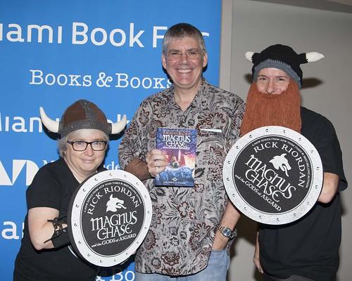Rick Riordan book fan photo