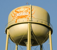"Welcome to Crisfield, MD, ""Seafood Capital of the World"", 10-12-15 (Land Matters Photography) Tags: watertower maryland crisfieldmaryland seafoodcapitaloftheworld"