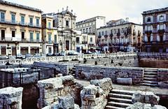Roman Amphitheatre - Lecce. (curly42) Tags: italy lecce romanamphitheatre apulia