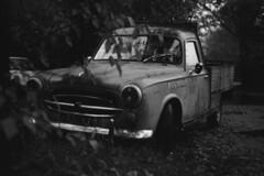 Peugeot 403 - Classic Cars (Analog World Thru My Lenses) Tags: classic cars pickup peugeot 403 kodaktx400 ricohxr7 rikenon50mmf17