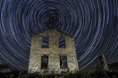 Wisconsin Ruins 2 (UH82NVMy Photography) Tags: wisconsin canon way stars star timelapse big ruins control little trail galaxy milky startrails dipper northstar promote rokinon poloris promotecontrol uh82nvmyphotography