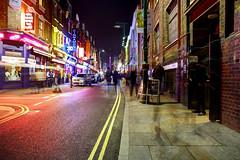 Brick Lane on a Friday Night (Anatoleya) Tags: city urban brick london night evening long exposure lane shoreditch nightlife bricklane hdr anatoleya
