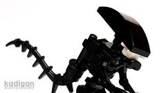 LEGO Xenomorph (kadigan) Tags: lego alien ridleyscott scifi custom 1979 minifigure xenomorph