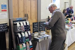 Socks Fairtrade Rutland Christmas Market 2015 Victoria Hall Opened By Rutland County Council Chairman Cllr Bool Photographs and Video (@oakhamuk) Tags: by video christmasmarket photographs chairman opened victoriahall 2015 martinbrookes rutlandcountycouncil fairtraderutland cllrbool