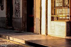 ((mig)) Tags: street sunset atardecer calle gijn cimadevilla xixn