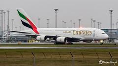 Emirates, Airbus A380-861, A6-EOP, 200, 16. december 2015 (mhoejte) Tags: emirates a380 cph copenhagenairport ekch a6eop