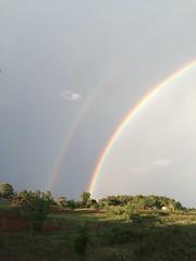 (Leela Channer) Tags: rainbow promise kenya africa rain sun landscape scenery nature doublerainbow sky