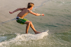 Skimboarder (JJS Photo) Tags: colliercounty fl florida jjsph naples naplespier november beach skimboarder skimboarding