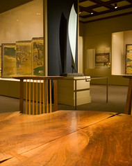 The Met (faasdant) Tags: metropolitan museum art new york city nyc gallery painting sculpture modern the met george nakashima table chairs american walnut 1987