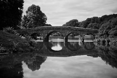 Stourhead (John Compiani) Tags: stourhead national trust nt bridge bw xpro1 fujifilm long exposure le nd110 nd wiltshere