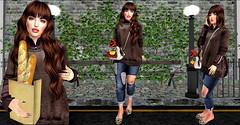 ✎ Fame femme -Sintiklia (Nicol Kling) Tags: famefemme sintiklia labelmotion chicchica zenith addams nicolkling catwa bento realease tmd secondlife shopping