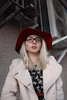 Margo (ZolotoyPhotography) Tags: girl red hat color style street fashion portrait glass glasses