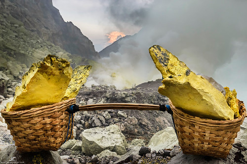 Sulfur basket