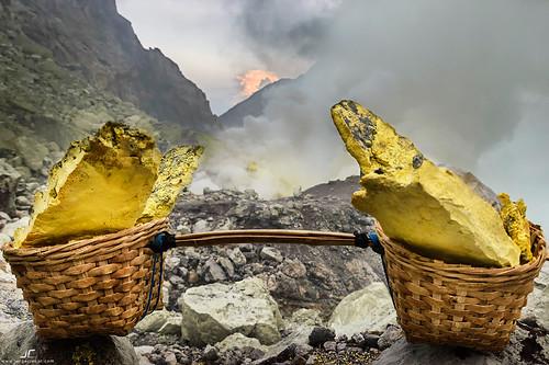 Sulfur basket