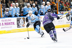 "Missouri Mavericks vs. Alaska Aces, December 16, 2016, Silverstein Eye Centers Arena, Independence, Missouri.  Photo: John Howe / Howe Creative Photography • <a style=""font-size:0.8em;"" href=""http://www.flickr.com/photos/134016632@N02/31717057546/"" target=""_blank"">View on Flickr</a>"