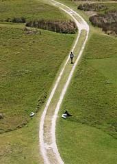 Caminante (carlos_ar2000) Tags: camino road hombre man curva curve calle street parque park cabopolonio rocha uruguay