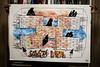proprietà privata (eleuro_eleuro) Tags: watercoulor draw drawing character illustration illustrazione acrilic china ink wall mexicowall stranger immigration brick texure rithm paper fabriano