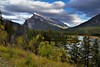 This is a Way to End a Day! (Banff National Park) (thor_mark ) Tags: nikond800e day3 triptoalbertaandbritishcolumbia banff banffnationalpark lookingse capturenx2edited colorefexpro mountrundle rockymountains canadianrockies southerncontinentalranges southbanffranges rundlepeaks outside nature landscape blueskieswithclouds rollinghillsides mountains mountainsindistance mountainsoffindistance cloudsaroundmountains hillsides hillsideoftrees evergreens trees grassymeadow vermillionlakes lakes sulphurmountain eccezionale canvas portfolio project365 transcanadahighway transcanadahighway1 transcanadahwy1 albertahighway1 roadsidepulloff mountainside mountainvalley bowvalley alberta canada absolutelystunningscapes