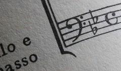 Cello e basso (Marie Kappweiler) Tags: macromondays corner music musique musik noten faschlüssel note clefdefa macro makro solfège