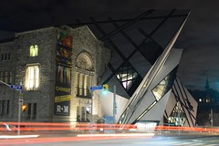 The ROM (hogtown_blues) Tags: toronto ontario canada downtowntoronto bloorstreetwest queensparkavenue avenueroad royalontariomuseum rom architecture building night longexposure afterdark earlymorning