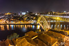 Night On The Roof Tiles (Tim van Zundert) Tags: river douro reflection porto portugal dom luis i bridge urban architecture roof cityscape landscape city europe night evening long exposure sony a7r voigtlander 21mm ultron