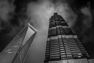 Shanghai from the sky - Shanghai World Financial Center - China