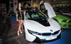 BMW i8 (Kácsor Zsolt) Tags: canon city colors color car model mini stm skirt girl girls bmw i8 70d 1018 show tuning vehicle rim race racing road town lights light wheel women budapest hungary high heels heel capital people indoor ngc beauty tuned