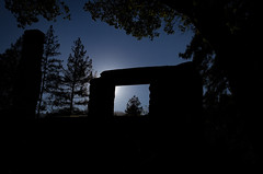 Framed (glo photography) Tags: california glenellenca gloriasalvanteglophotography jacklondon jacklondonstatepark northerncalifornia sonomacounty wolfhouse backlit chimney facade historic mansion ruins statepark stone trees window winecountry