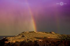 MANGA_192 (Almu_Martinez_Jiménez) Tags: rainbow arcoiris naturaleza mar murcia manga luz light suerte somewhere