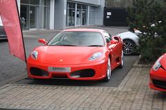 430 (aj.cars) Tags: ferrari 430 f430 ferrari430 ferrarif430 red redferrari edinburgh scotland ferrariedinburgh super supercar sports sportscar
