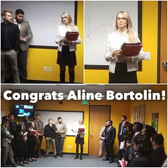 It's funny how hard work pays off! 🤔 CONGRATS ALINE!! 👏👏 #success101 #leadership #growth #101bb #bestandbrightest #olninc #carsonca (oln_inc) Tags: oln inc carson ca los angeles
