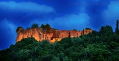 Ali pasha's castle at dusk Parga (Dimitil) Tags: epirus greece parga clouds momuments nature nightshot anthousa agia castles