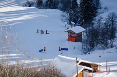 Arrivée du stade (La Pom ) Tags: combloux flêche compétition descente géant moniteur ouvreur porte piste stade rodhos ski