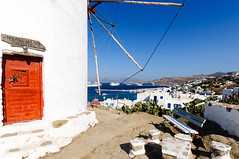 Mykonos (Explore) (Kevin R Thornton) Tags: d90 landscape travel mediterranean windmill architecture mykonos nikon greece mikonos egeo gr