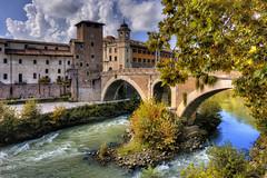 Roma n°24 - ponte Fabricio (Roberto Defilippi) Tags: 2017 132017 rodeos robertodefilippi nikond7100 roma rome ponte bridge tevere