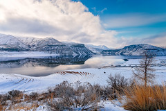 lucky peak-12-20-15-6 (Ken Folwell) Tags: water landscape outdoor idaho snow canon5dii clouds sky