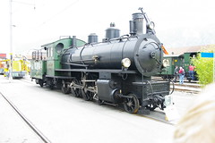 IMGP7787 (Alvier) Tags: schweiz graubünden rhb rhätischebahn landquart hauptwerkstätte tagderoffenentür triebfahrzeuge lokomotiven taufe triebzüge g45