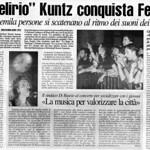 Rassegna stampa TAM 2001