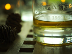 Whiskey (Tobias Krenzer) Tags: whiskey rustikal smoke bokeh light sky jack daniels omd em10 mrk2 sigma 60mm