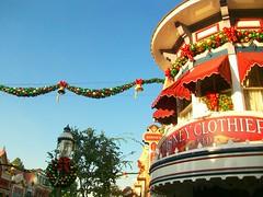 Christmas on Main Street (artofjonacuna) Tags: california christmas street usa holidays disneyland main adventure