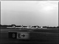 A Brace of RVators (holtelars) Tags: blackandwhite bw 120 film monochrome analog mediumformat denmark 645 pentax d76 300mm airshow analogue 6x45 danmark roskilde 400iso f40 foma rv6 pentax645 filmphotography jobo fomapan autolab fomapan400 classicblackwhite 645n homeprocessing fomapan400action filmforever smcpentax67 atl1500 larsholte rvator fotodioxp67top645adapter