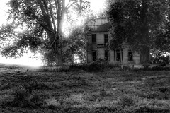 The Recurring Dream (Feeling The Green) Tags: blackandwhite abandoned found dream abandonedhouse isolation fading dejavu recurringdream abandonedindiana