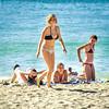 Bikini Beach (Steve Crane) Tags: people woman man beach girl southafrica bikini teenager swimsuit swimwear gordonsbay westerncape helderberg bikinibeach